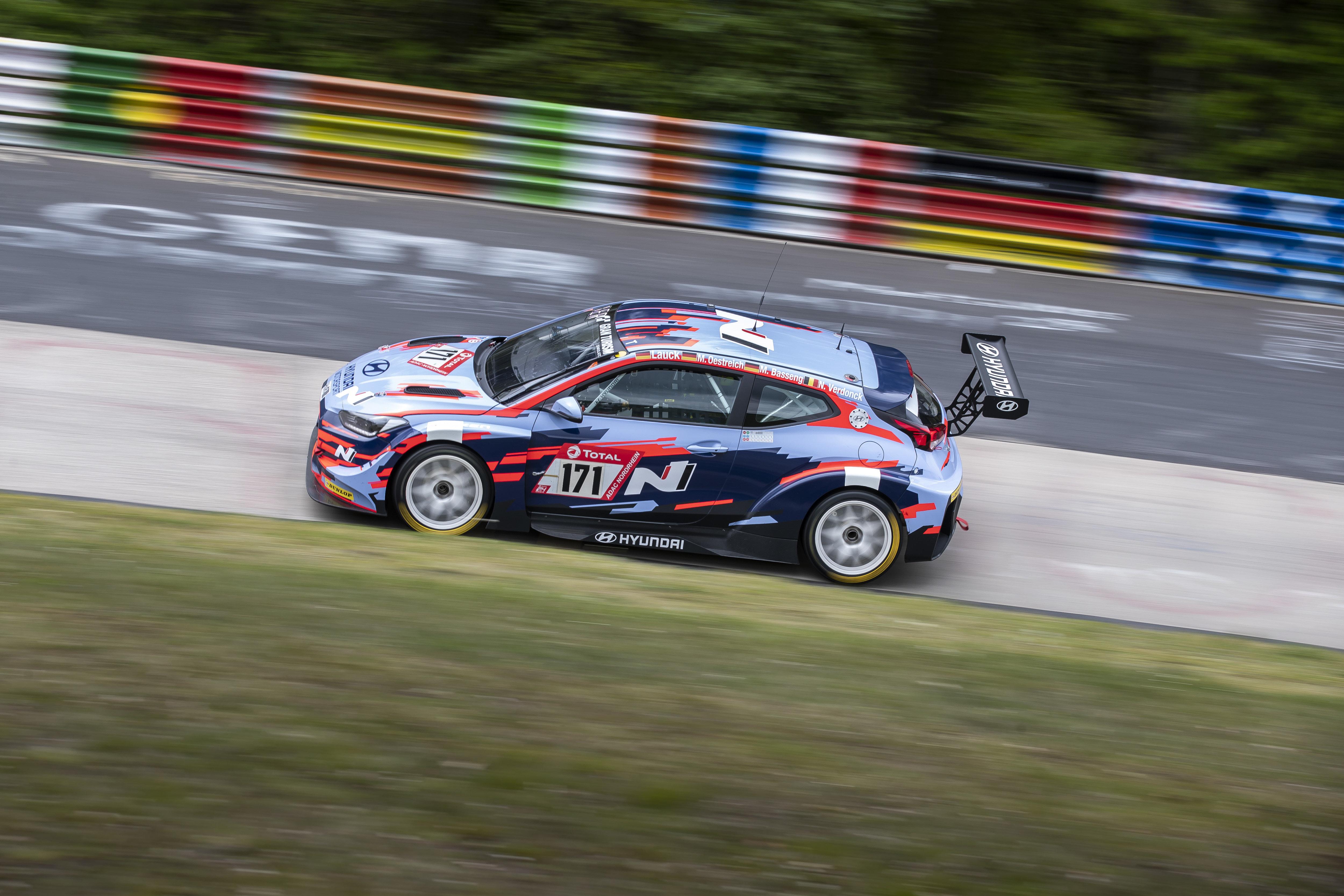 Veloster N TCR - Nürburgring 24 Hours Qualifying Race