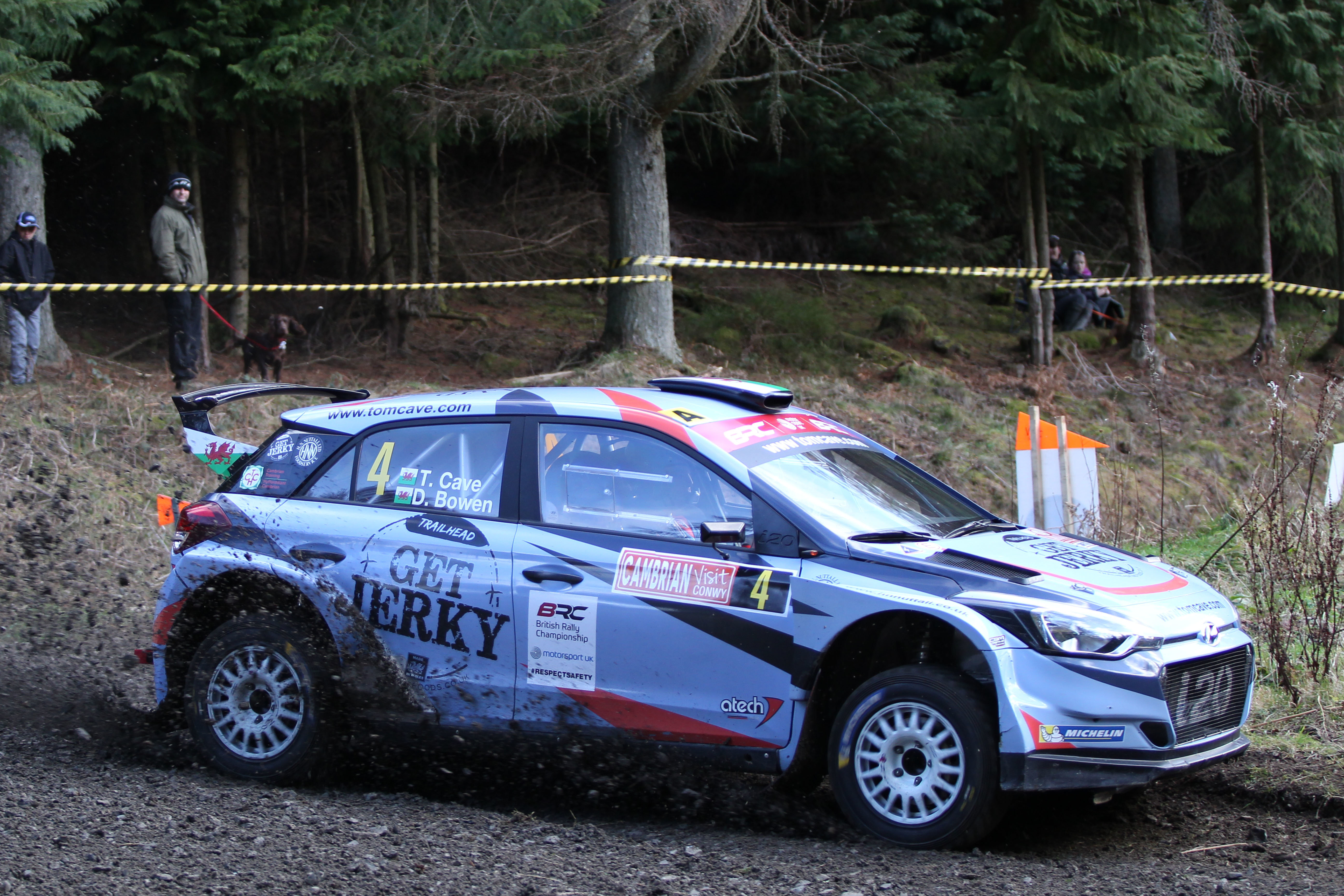 Tom Cave - i20 R5 - Cambrian Rally