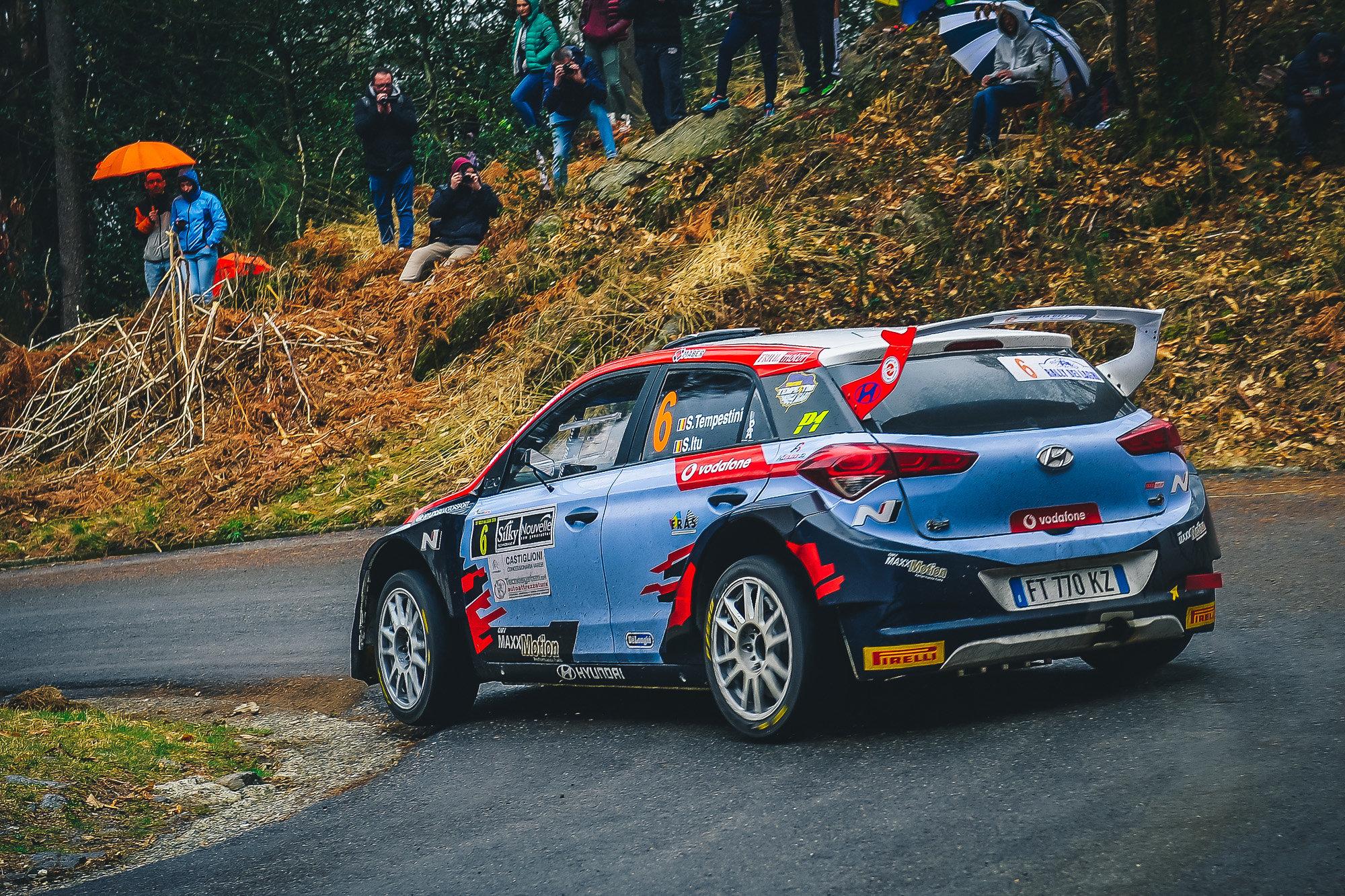 Simone Tempestini - i20 R5 - Rally dei Laghi