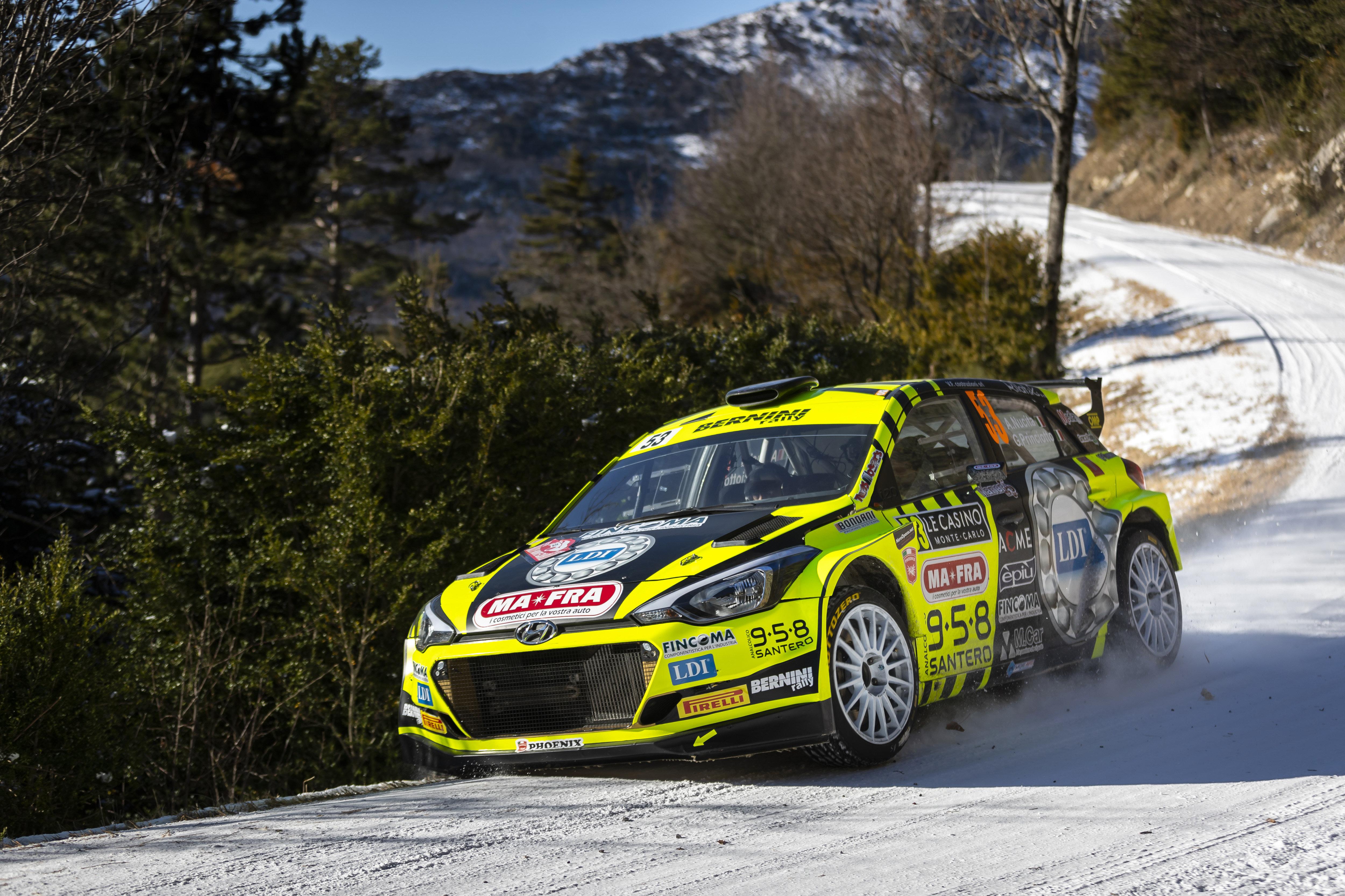 Andrea Nucita - i20 R5 - Rallye Monte-Carlo