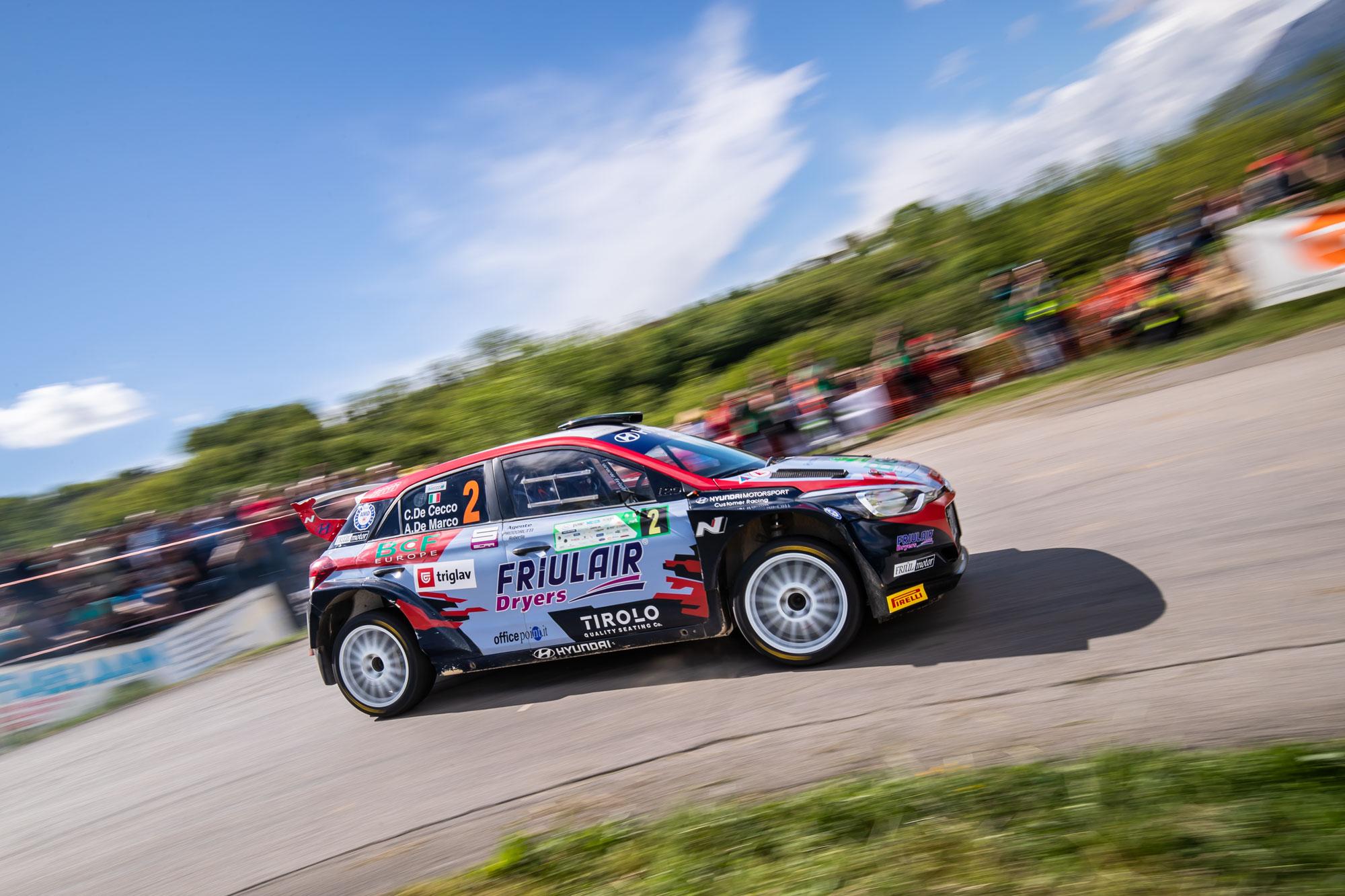 Claudio de Cecco - Rally Vipavska dolina