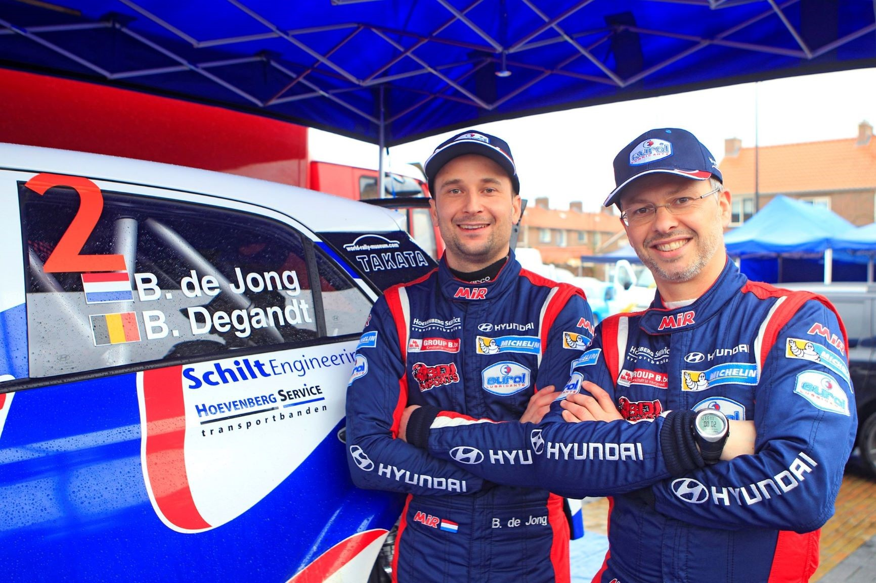 Bob de Jong & Bjorn Degandt - i20 R5 - Zuiderzee Rally
