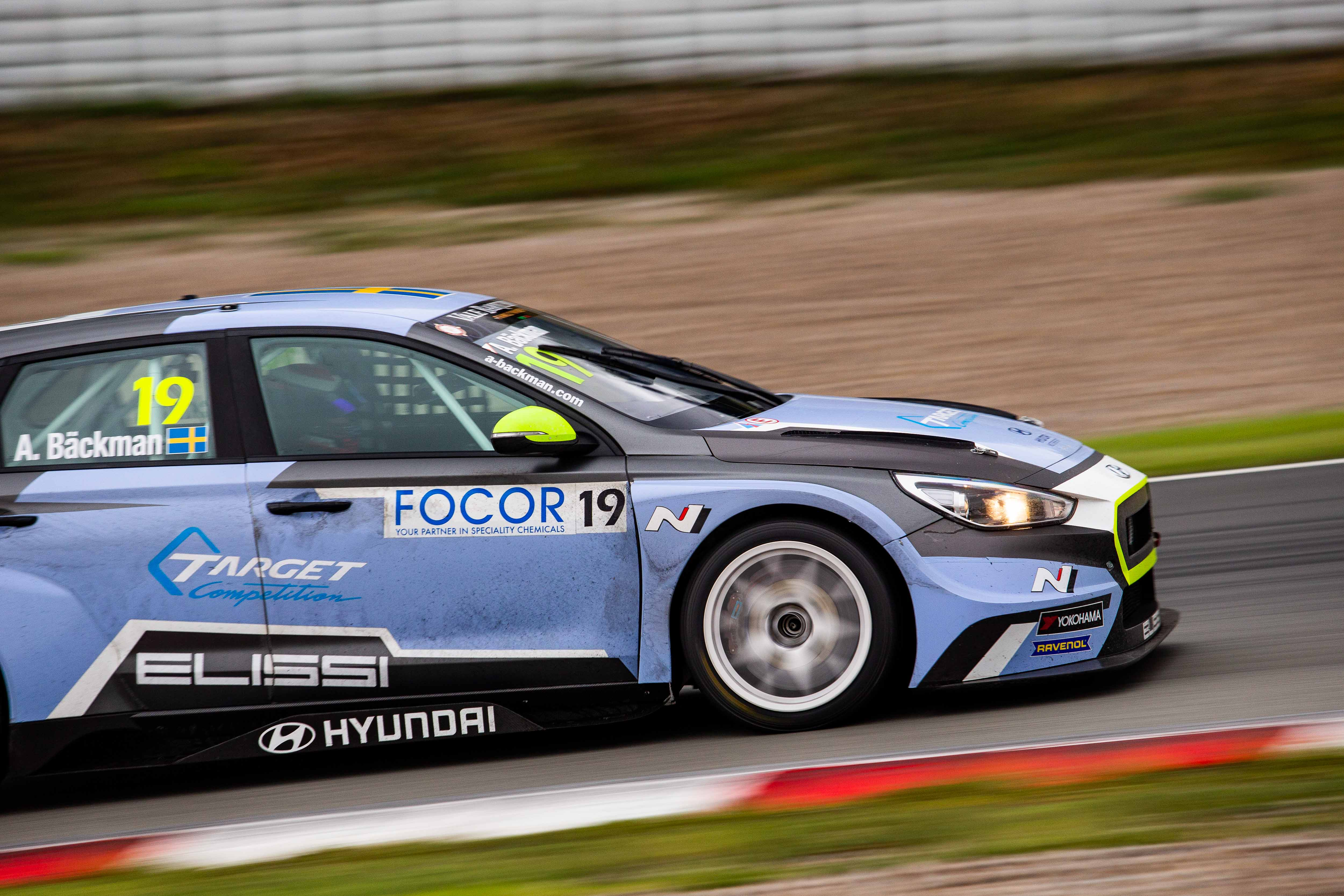 Andreas Bäckman - TCR Europe