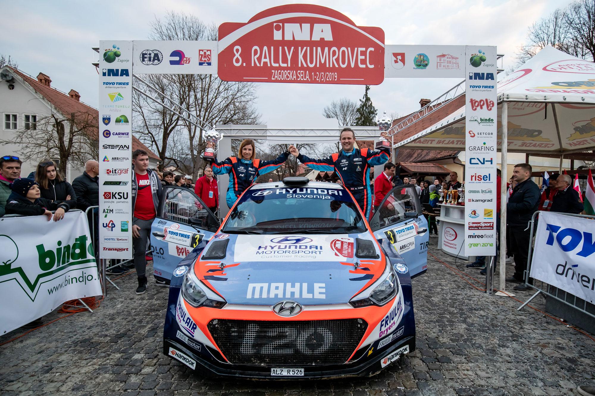 Rok Turk - i20 R5 - Rally Kumrovec