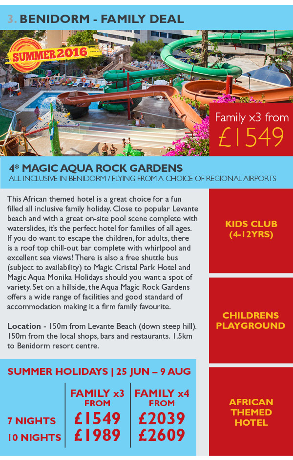 Benidorm - Family Deal
