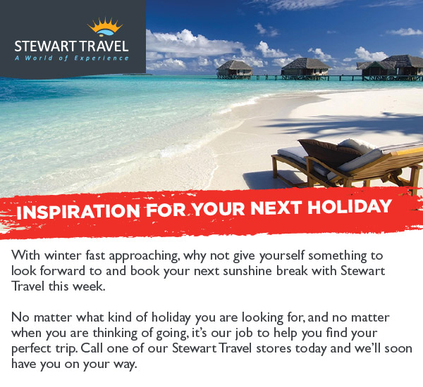 Inspiration for your next holiday
