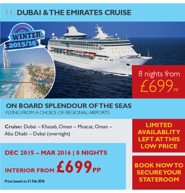 Dubai & The Emirates Cruise