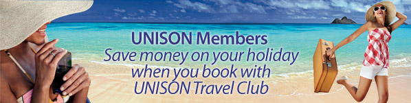 www.UnisonTravelClub.co.uk