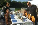 Fest på Tjauls Gård