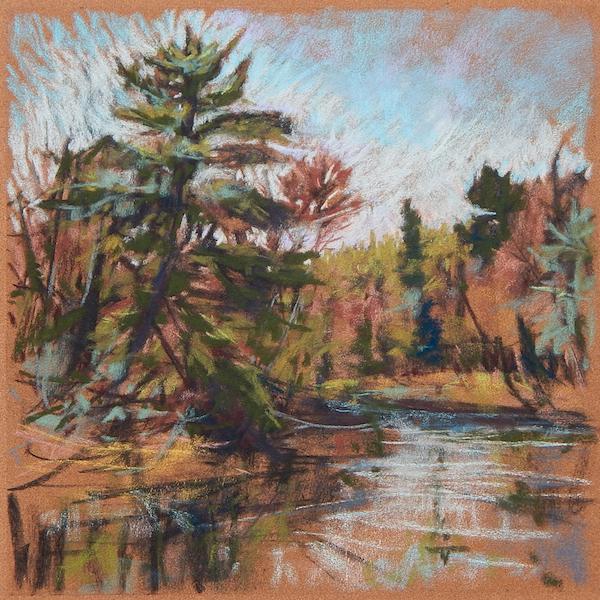 Speed of Life, pastel by Kay Sullivan