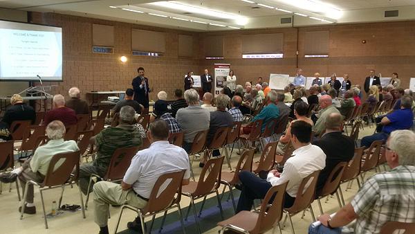 Photo of Ward Meeting