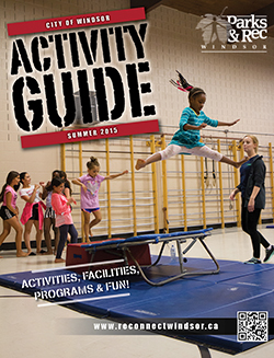Photo of this season's Activity Guide