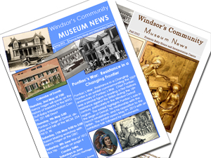 Photo of Windsor Community Museum Newsletters