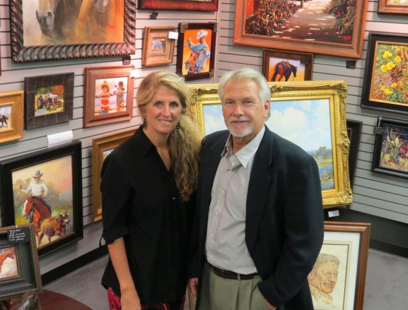 Pam and Hans Massar