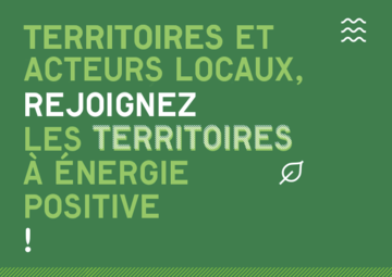 Rejoignez les territoires à énergie positive !