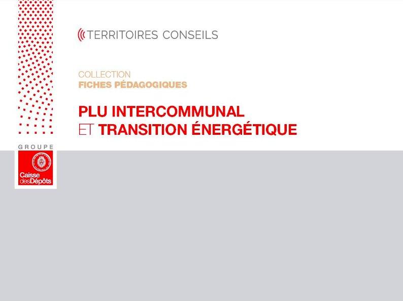 PLUi et transition énergétique