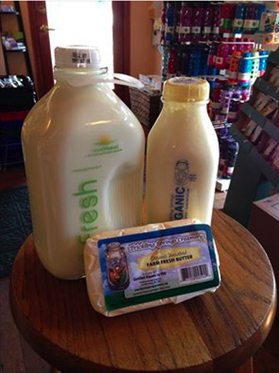 Fresh Organic Dairy Products From Trickling Springs Creamery Deliveres Every Tuesday
