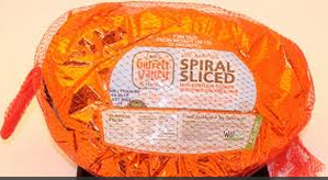 Garret Valley Semi Boneless Spiral Hams. Pre cooked and Pre sliced. No antibiotics. Great taste