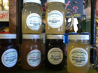 Farmstead Ferments Kefir Water and Kraut Delivery Today 5-15-2015