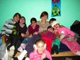 Gina and the girls from Illisua