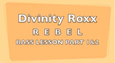 BASS LESSON (REBEL) by Divinity Roxx