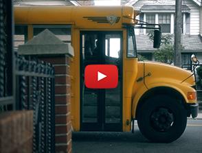 Empty School Buses