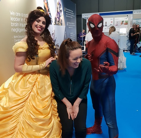 Jade, Spiderman and Belle