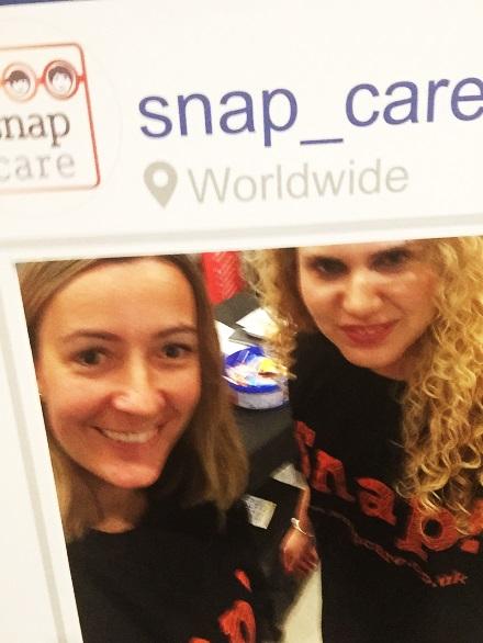 Rachael and Kamila at the Metro Job Fair