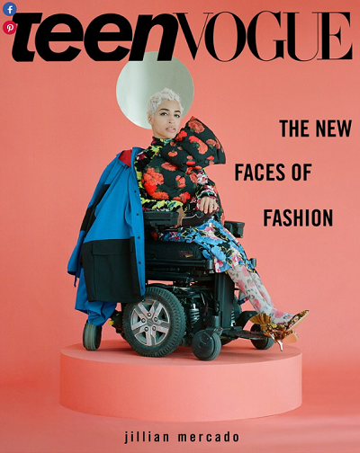 Teen Vogue What it's like to be a disabled model