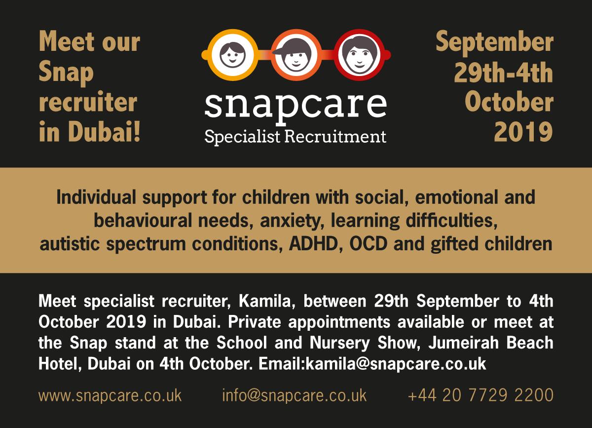 Meet Kamila in Dubai advert