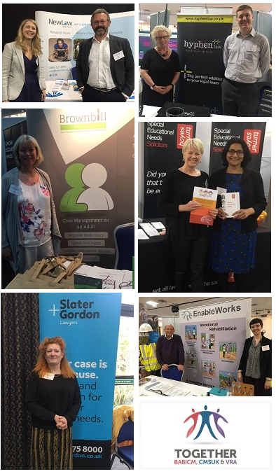 A few of the exhibitors at the Together 17 conference