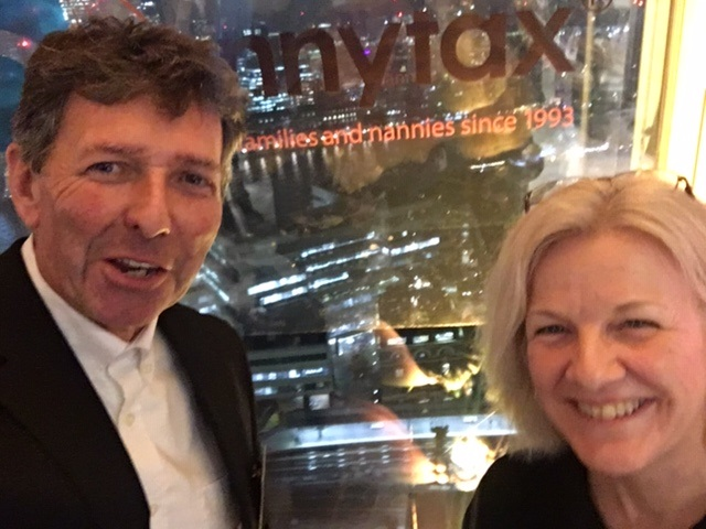 Andrew and Sally from Snap at the Shard