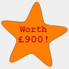 Worth £900