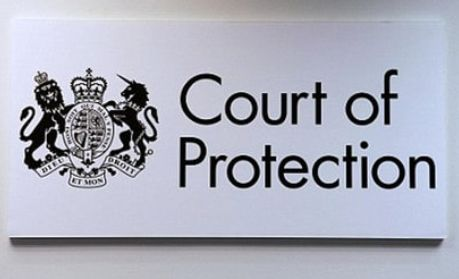 Court of protection text