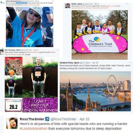 #LondonMarathon