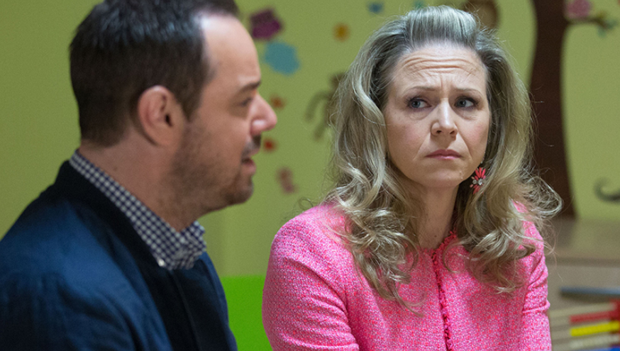 Eastenders, Linda and Mick Carter photo