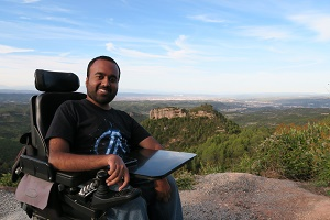 Srin Madipalli disabled entrepreneur and CEO at Accomable