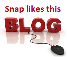 Snap likes this blog