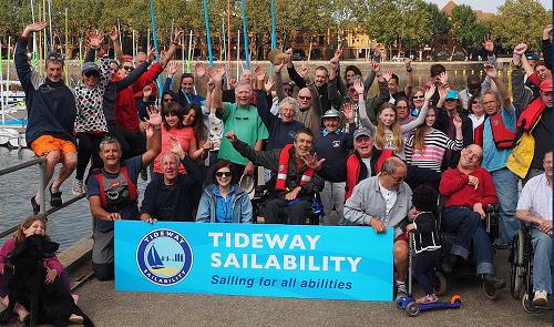 Group Photo at Sailability