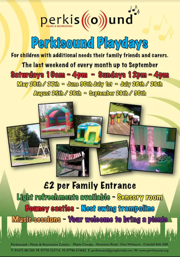 Perkisound Playdays Flyer