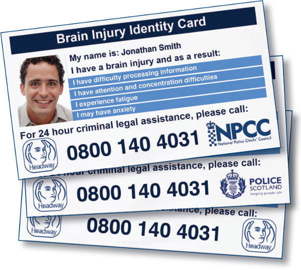 Brain Injury Identity Card