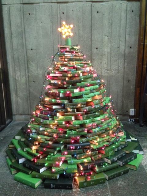 The Killam Memorial Library Book Tree