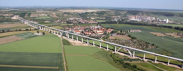 Unstrut Viaduct, Germany (Photo: DB ProjektBau GmbH)