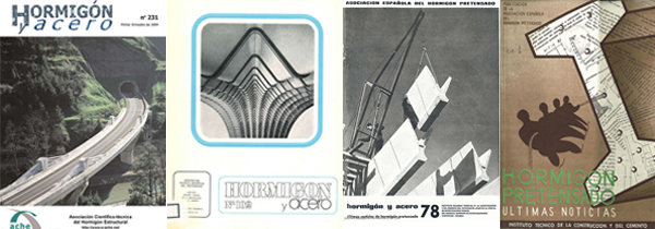 Covers of Hormigón y Acero