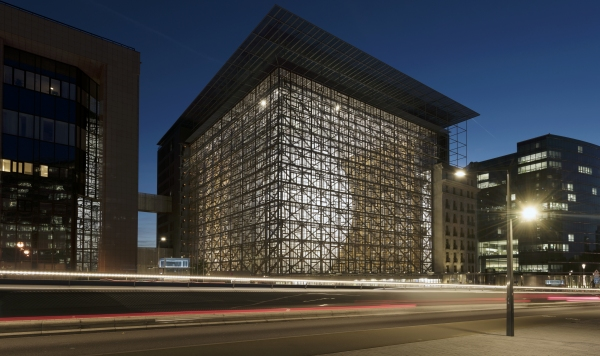 EUROPA-Gebäude, Brüssel (Foto: Philippe Samyn and Partners)