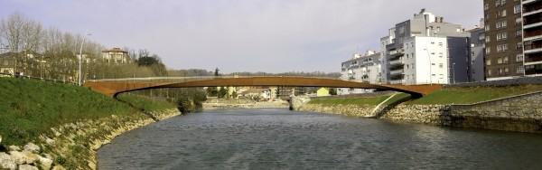 Martutene Footbridge, San Sebastian (photo: Gorka Mirasolain)