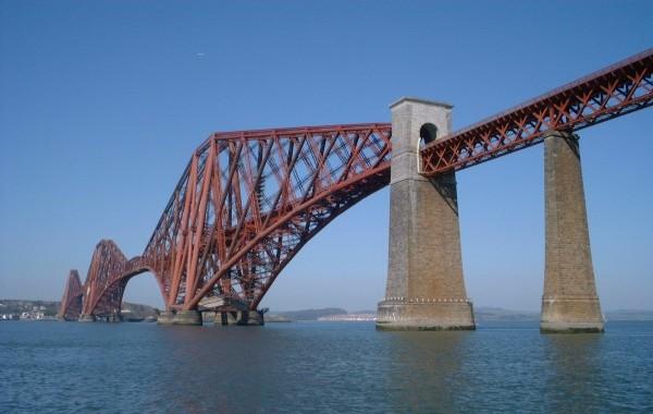 Forth-Brücke (Foto: Klaus Föhl)