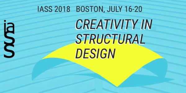 Creativity in Structural Design (IASS), Boston, 16-20 July 2018
