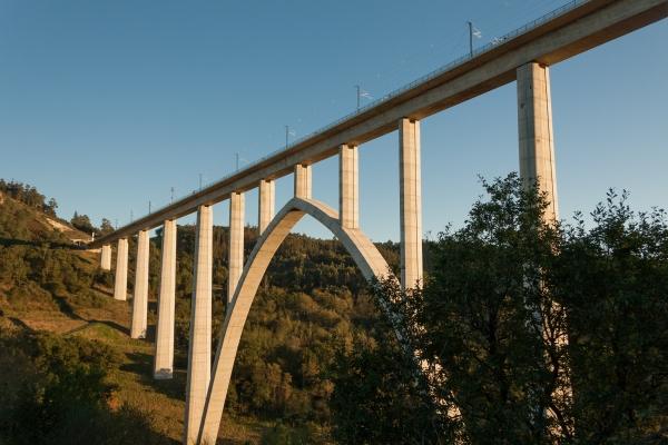 Ulla Viaduct, Vedra (photo: Iago Pillado, CC-BY-SA 3.0)