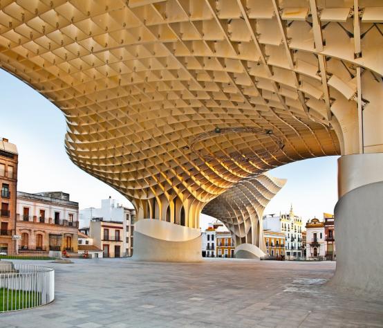 Metropol Parasol, Sevilla (photo: BOT Oberflächentechnik GmbH)